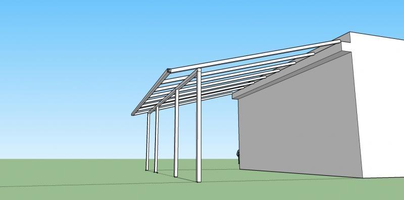 Diseño estructura para cubierta